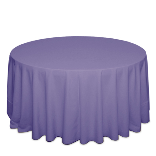 Lavender Tablecloths Lavender Solid Polyester Tablecloth Rentals