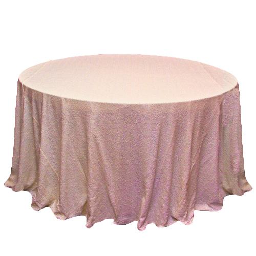 Blush Glitz Sequin Table overlays