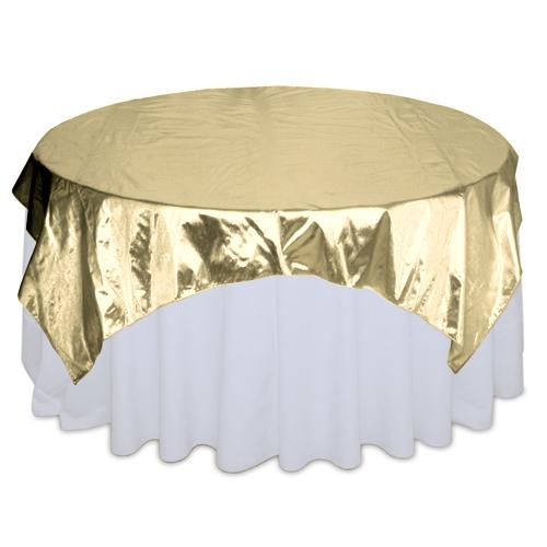 Gold Lamé Overlay Rental Gold Lamé Overlay Rental