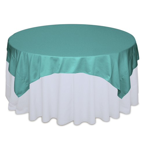 Mermaid Matte Satin Table Overlay Rental Mermaid Matte Satin Overlay Rental