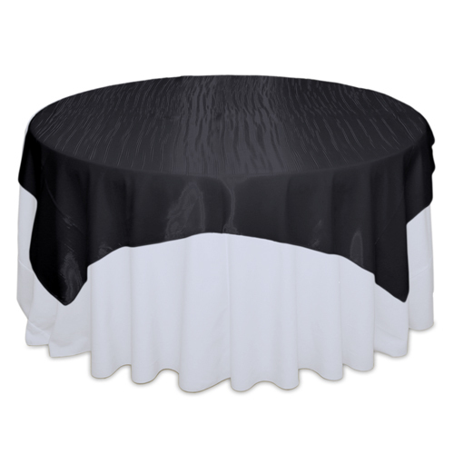 Black Mirror Table Overlay Rental Black Mirror Overlay Rental