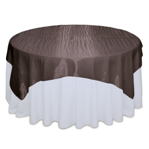 Chocolate Mirror Table Overlay Rental Chocolate Mirror Overlay Rental