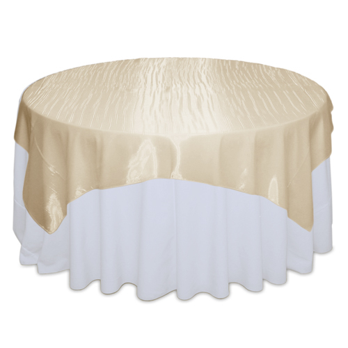 Champagne Mirror Table Overlay Rental Champagne Mirror Overlay Rental