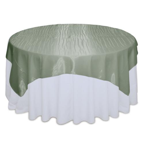 Sage Mirror Table Overlay Rental
