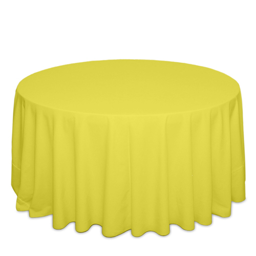 Neon Yellow Tablecloths Neon Yellow Polyester Tablecloth Rentals
