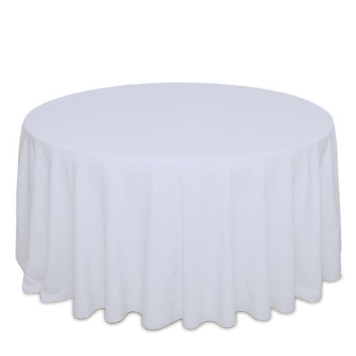 White Spun Cottoneze Tablecloth Rental White Spun Cottoneze Tablecloth Rental