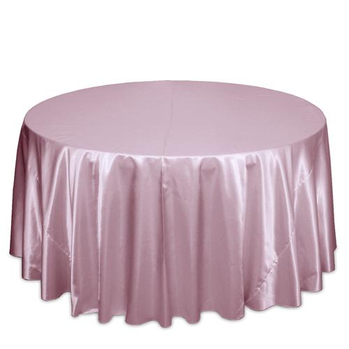 Pink Satin Tablecloths Pink Polyester Satin Tablecloth Rentals