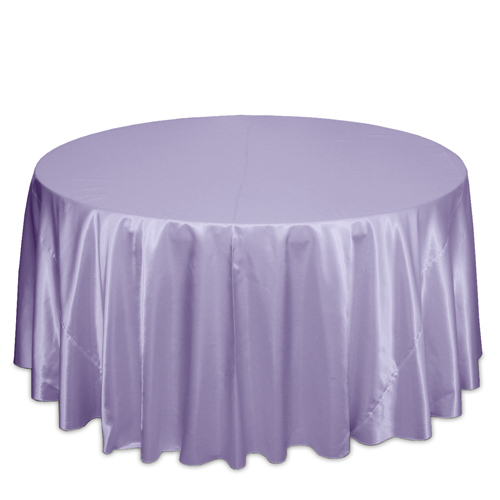 Lilac Satin Tablecloths Lilac Polyester Satin Tablecloth Rentals