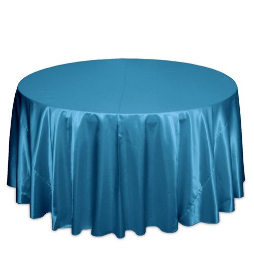 Teal Satin Tablecloths Teal Polyester Satin Tablecloth Rentals