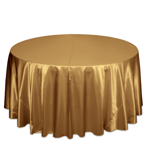 Gold Satin Tablecloths Gold Polyester Satin Tablecloth Rentals