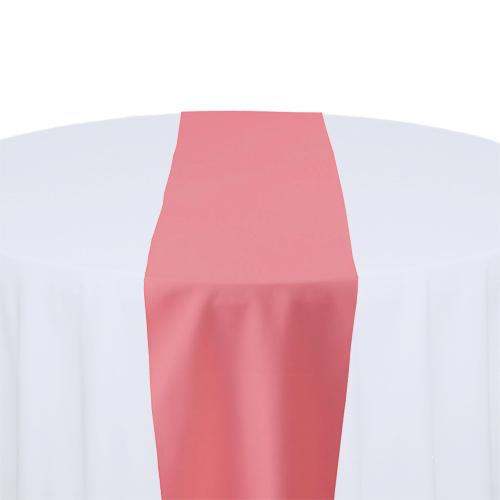 Watermelon Table Runner Watermelon Solid Polyester Table Runner Rental