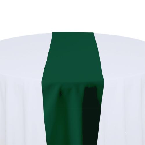Hunter Solid Polyester Table Runner Rental Hunter Solid Polyester Table Runner Rental