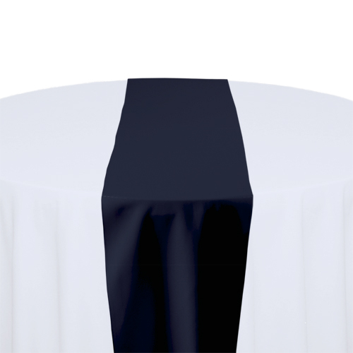 Navy Solid Polyester Table Runner Rental