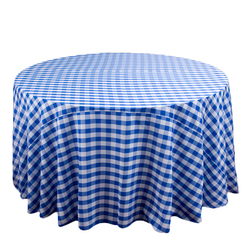 Linen Check Tablecloths