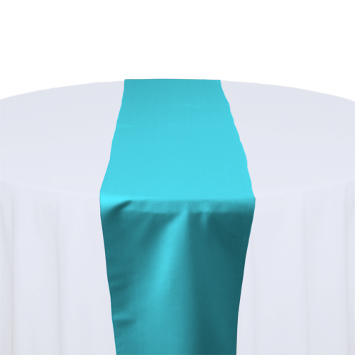 Mermaid Matte Satin Table Runner Rental Mermaid Matte Satin Table Runner Rental
