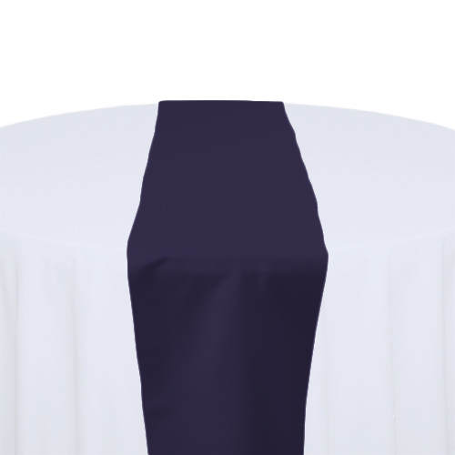 Lapis Matte Satin Table Runner Rental Lapis Matte Satin Table Runner Rental
