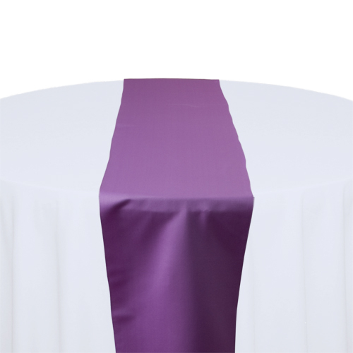 Wisteria Matte Satin Table Runner Rental Wisteria Matte Satin Table Runner Rental
