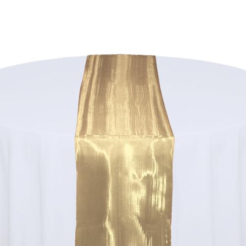Bronze Mirror Table Runner Rental