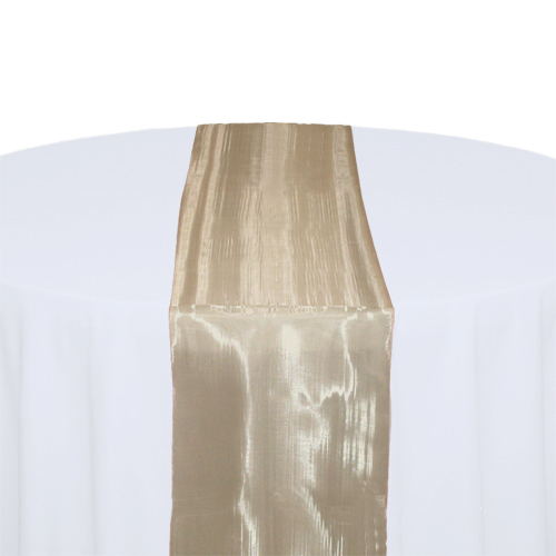 Champagne Mirror Table Runner Rental Champagne Mirror Table Runner Rental