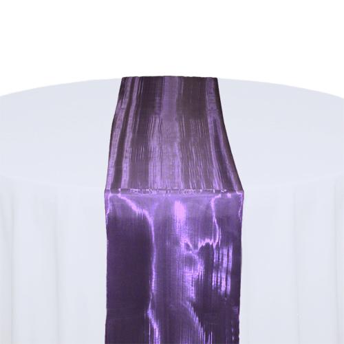 Eggplant Mirror Table Runner Rental Eggplant Mirror Table Runner Rental