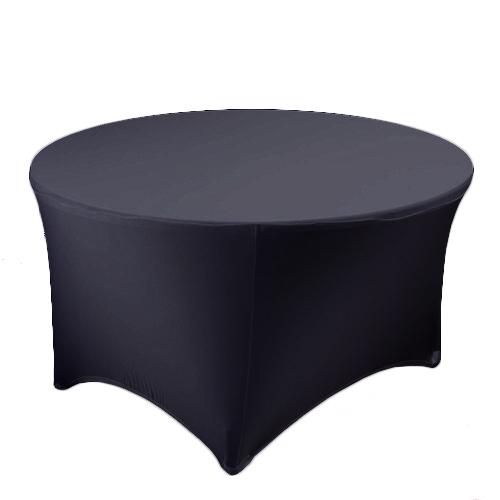 Black Stretch Tablecloth Rental Black Stretch Spandex Tablecloth Rental