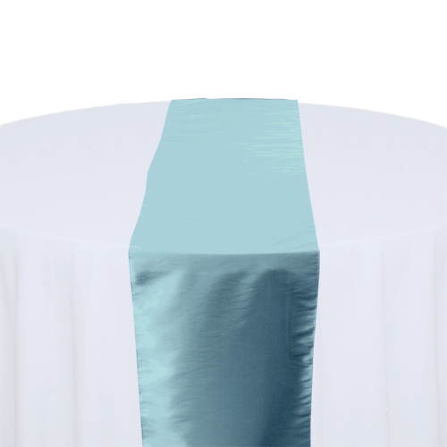 Pool Taffeta Table Runner Rental Pool Taffeta Table Runner Rental