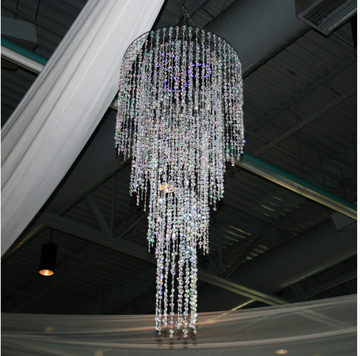 Tiffany Crystal 4 Tier Chandelier Rental Tiffany Crystal 4 Tier Chandelier Rental