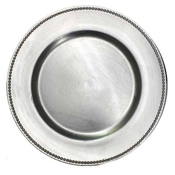 Silver Charger Plates Silver Charger Plate Rental