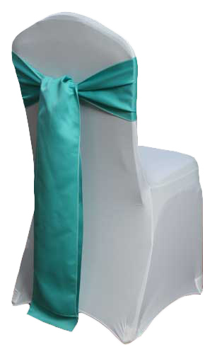 Mermaid Matte Satin Chair Sashes