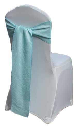 Pool Taffeta Chair Sashes