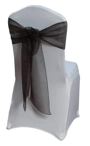 Chocolate Mirror Sash Rental
