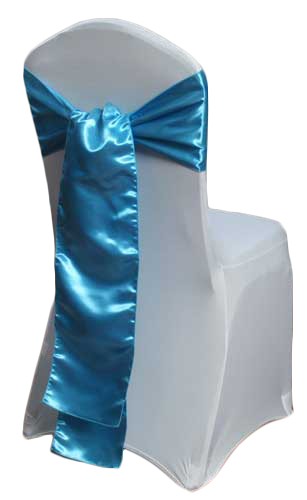 Malibu Satin Chair Sashes Malibu Polyester Satin Chair Sash Rental