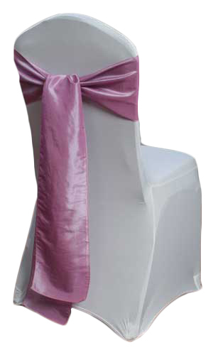 Rose Taffeta Sash Rental