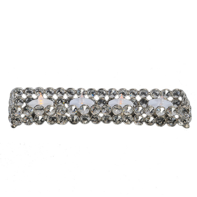 Crystal Gem Rectangle Tealight Holder Rental