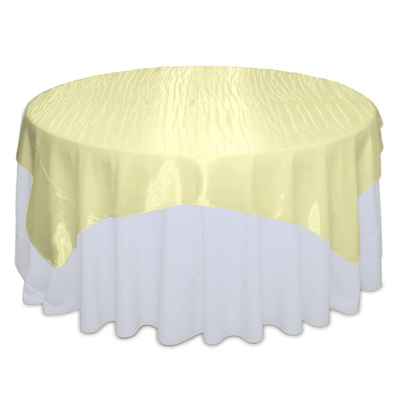 Yellow Mirror Table Overlay Rental