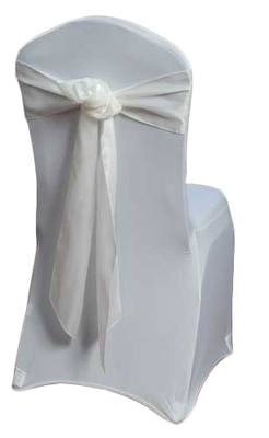 Ivory Organza Satin Chair Sashes