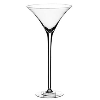 Martini Glass Vase Rental