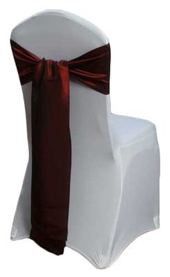 Cinnamon Taffeta Chair Sashes