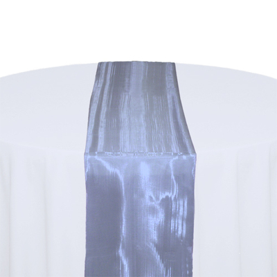 Periwinkle Mirror Table Runner Rental