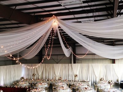 Italian Lights - Bistro Lighting - Wedding Lighting