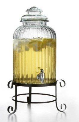 Beverage Dispenser w/Stand - 3 Gallon Beverage Dispenser w/Stand