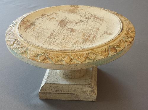 "Wood Chic Wedding Cake Stand - 10 1/2"" Wood Chic Wedding Cake Stand"