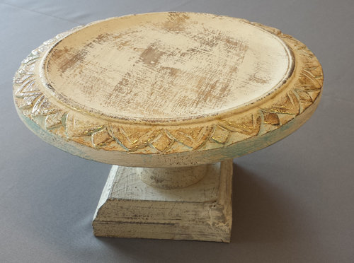 Wood Chic Wedding Cake Stand - 10 1/2