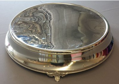 Silver Plated Wedding Cake Stand - 18