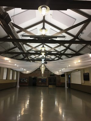 Camp Dodge Ceiling Draping - Des Moines, Iowa