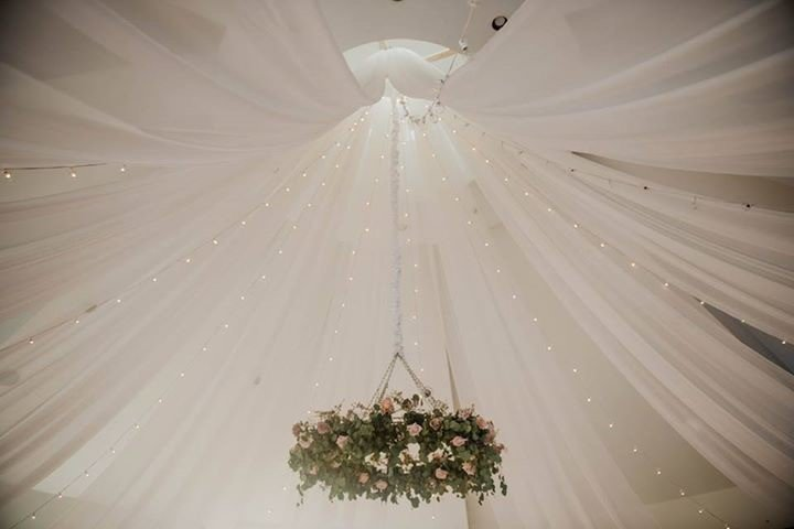Glen Oaks Country Club - West Des Moines - Ceiling Draping Glen Oaks Country Club - West Des Moines - Ceiling Draping