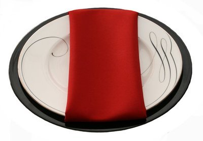 Cherry Red Napkins