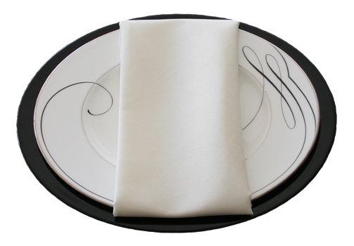 Ivory Napkins Ivory Polyester Napkin Rental