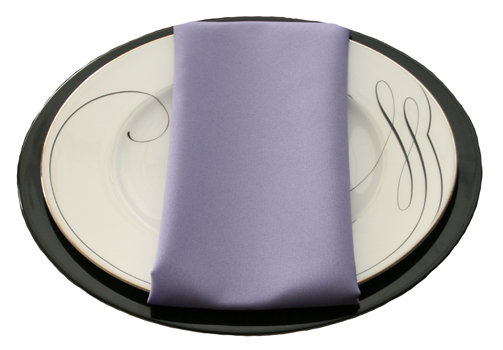 Lavender Napkins Lavender Polyester Napkin Rental