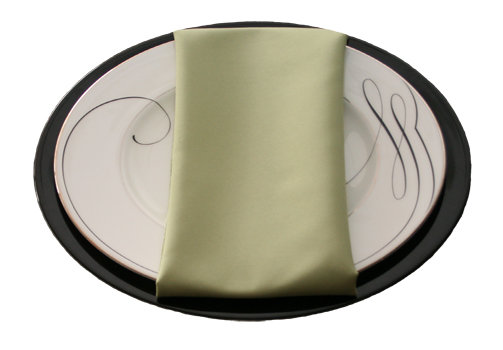 Light Olive Napkins Light Olive Polyester Napkin Rental